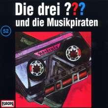 Die drei ??? (Folge 052) und die Musikpiraten, CD