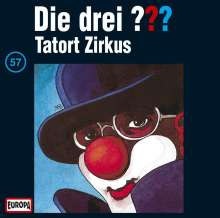 Die drei ??? (Folge 057) - Tatort Zirkus, CD