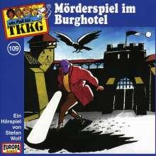 TKKG (Folge 109) - Mörderspiel im Burghotel, CD