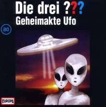 Die drei ??? (Folge 080) - Geheimakte Ufo, CD