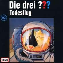 Die drei ??? (Folge 092) - Todesflug, CD