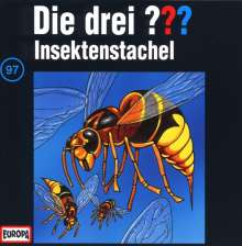 Die drei ??? (Folge 097) - Insektenstachel, CD