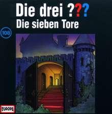 Die drei ??? (Folge 108) - Die sieben Tore, CD