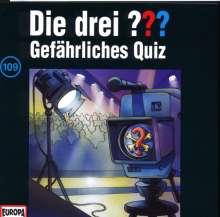 Die drei ??? (Folge 109) - Gefährliches Quiz, CD