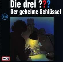 Die drei ??? (Folge 119) - Der geheime Schlüssel, CD