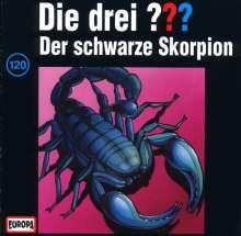 Die drei ??? (Folge 120) - Der schwarze Skorpion, CD