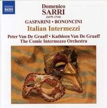 Domenico Sarro (1679-1744): Moschetta e Gullo Intermezzi I & II, CD