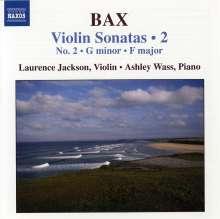 Arnold Bax (1883-1953): Violinsonaten Vol.2, CD