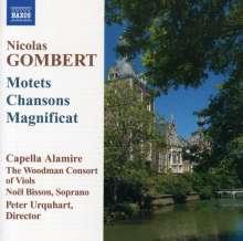 Nicolas Gombert (1495-1560): Motetten,Chansons,Magnificat, CD