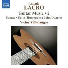 Antonio Lauro (1917-1986): Gitarrenwerke Vol.2, CD