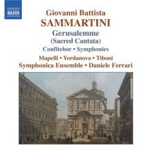 Giovanni Battista Sammartini (1701-1775): Gerusalemme sconoscente ingrata (Kantate), CD