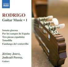 Joaquin Rodrigo (1901-1999): Gitarrenwerke Vol.1, CD