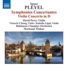 Ignaz Pleyel (1757-1831): Sinfonias concertantes A-Dur & B-Dur, CD