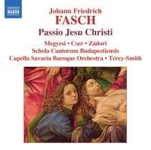 Johann Friedrich Fasch (1688-1758): Passio Jesu Christi, CD