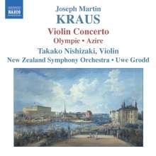 Josef Martin Kraus (1756-1792): Violinkonzert, CD