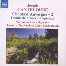 Joseph Canteloube (1879-1957): Lieder der Auvergne Vol.2, CD