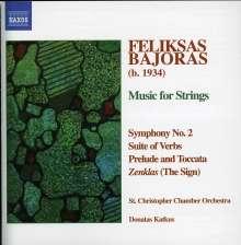 Feliksas Bajoras (geb. 1934): Symphonie Nr.2, CD