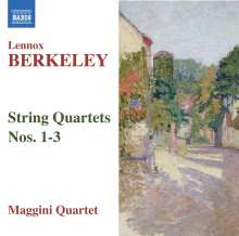 Lennox Berkeley (1903-1989): Streichquartette Nr.1-3, CD