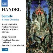 Georg Friedrich Händel (1685-1759): Semele, 3 CDs