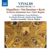 Antonio Vivaldi (1678-1741): Geistliche Musik Vol.3, CD