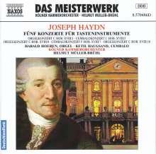 Joseph Haydn (1732-1809): Orgelkonzerte H18 Nr.1,8,10, CD
