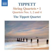Michael Tippett (1905-1998): Streichquartette Vol.1, CD