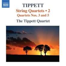 Michael Tippett (1905-1998): Streichquartette Vol.2, CD