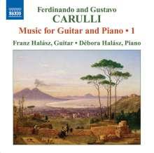 Ferdinando Carulli (1770-1841): Werke für Gitarre & Klavier Vol.1, CD
