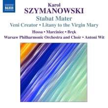 Karol Szymanowski (1882-1937): Stabat Mater op.53, CD