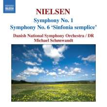 Carl Nielsen (1865-1931): Symphonien Vol.1, CD