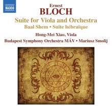Ernest Bloch (1880-1959): Suite für Viola & Orchester, CD