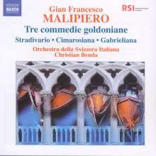 "Gian Francesco Malipiero (1882-1974): Symphonische Fragmente aus ""Tre Commedie Goldoniane"", CD"