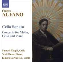 Franco Alfano (1875-1954): Konzert für Violine, Cello & Klavier, CD
