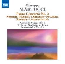 Giuseppe Martucci (1856-1909): Klavierkonzert Nr.2, CD