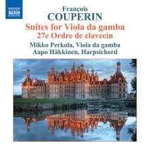 Francois Couperin (1668-1733): Suiten für Viola da Gamba, CD