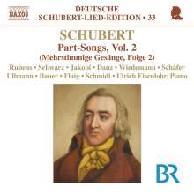 Franz Schubert (1797-1828): Mehrstimmige Gesänge Vol.2, CD
