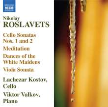 Nikolaj Roslavets (1881-1944): Cellosonaten r.1 & 2, CD