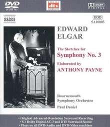 Edward Elgar (1857-1934): Symphonie Nr.3, DVD-Audio