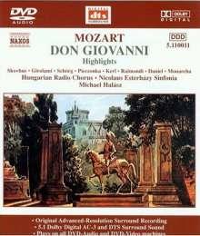 Wolfgang Amadeus Mozart (1756-1791): Don Giovanni (Ausz.), DVD-Audio