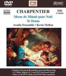 Marc-Antoine Charpentier (1643-1704): Messe de minuit sur des airs de Noel, DVD-Audio