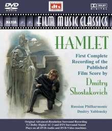 Dmitri Schostakowitsch (1906-1975): Hamlet op.116 (Filmmusik), DVD-Audio