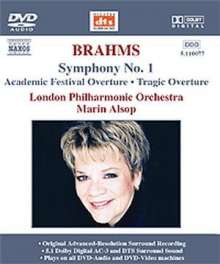 Johannes Brahms (1833-1897): Symphonie Nr.1, DVD-Audio