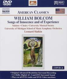 William Bolcom (geb. 1938): Songs of Innocence and of Experience, 2 DVD-Audio