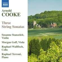 Arnold Cooke (1906-2005): Violinsonate Nr.2, CD