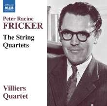 Peter Racine Fricker (1920-1990): Streichquartette Nr.1-3, CD