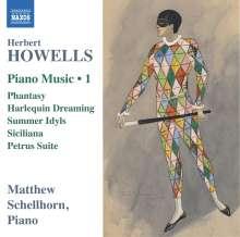 Herbert Howells (1892-1983): Klavierwerke Vol.1, CD