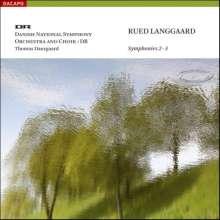 Rued Langgaard (1893-1952): Symphonien Nr.2 & 3, Super Audio CD