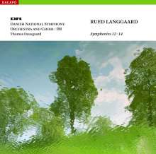 Rued Langgaard (1893-1952): Symphonien Nr.12-14, Super Audio CD