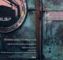 Pelle Gudmundsen-Holmgreen (1932-2016): Concerto grosso für Streichquartett & symphonisches Ensemble, Super Audio CD