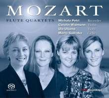 Wolfgang Amadeus Mozart (1756-1791): Flötenquartette Nr.1-4, Super Audio CD